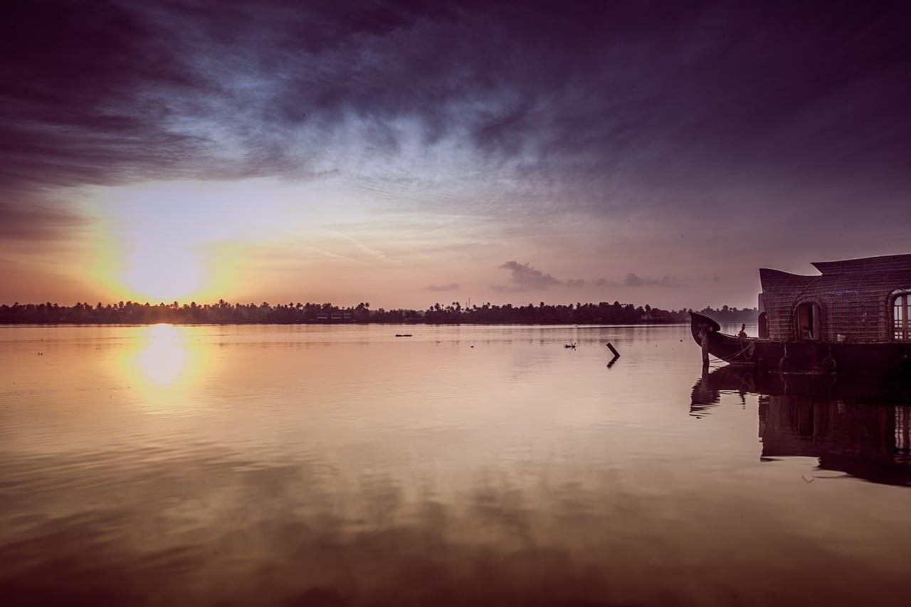 Sunrise Kerala Asia India