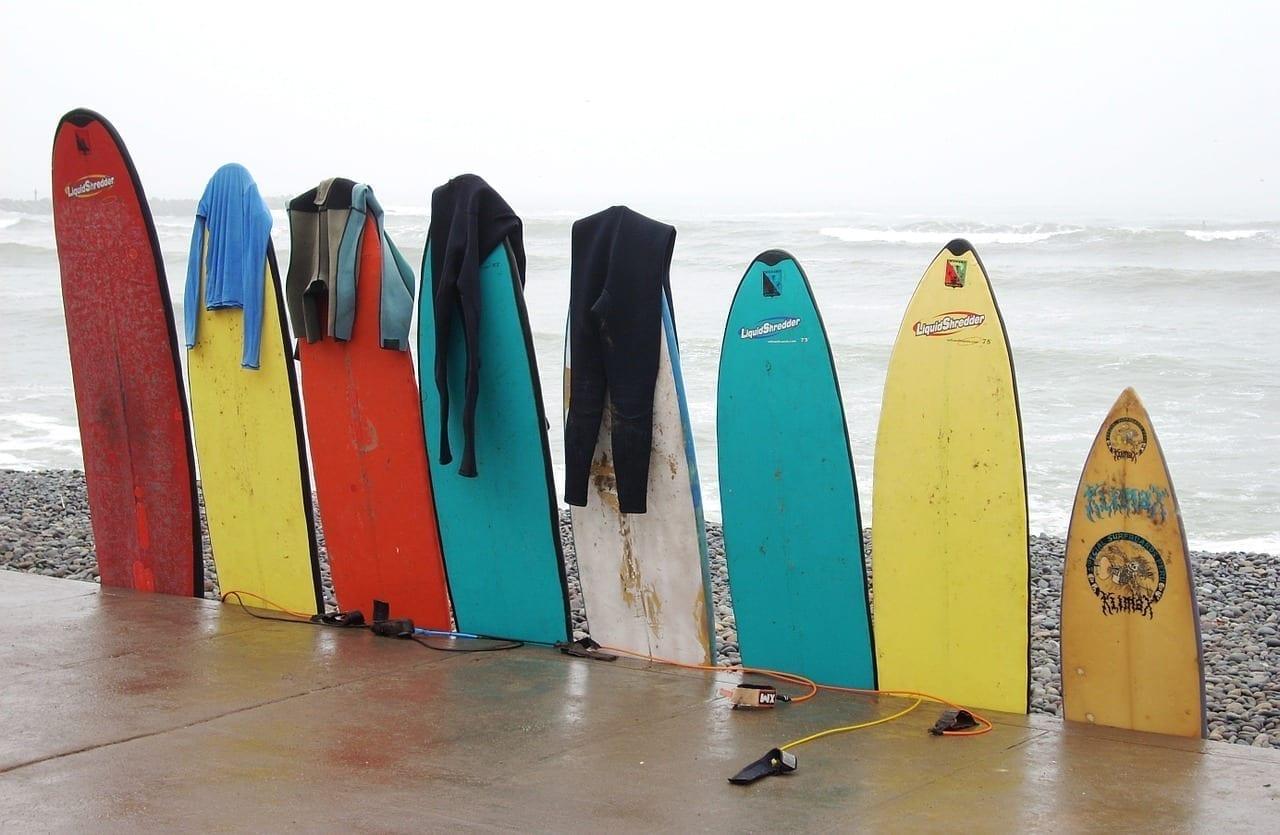 Tablas Colores Surf Filipinas