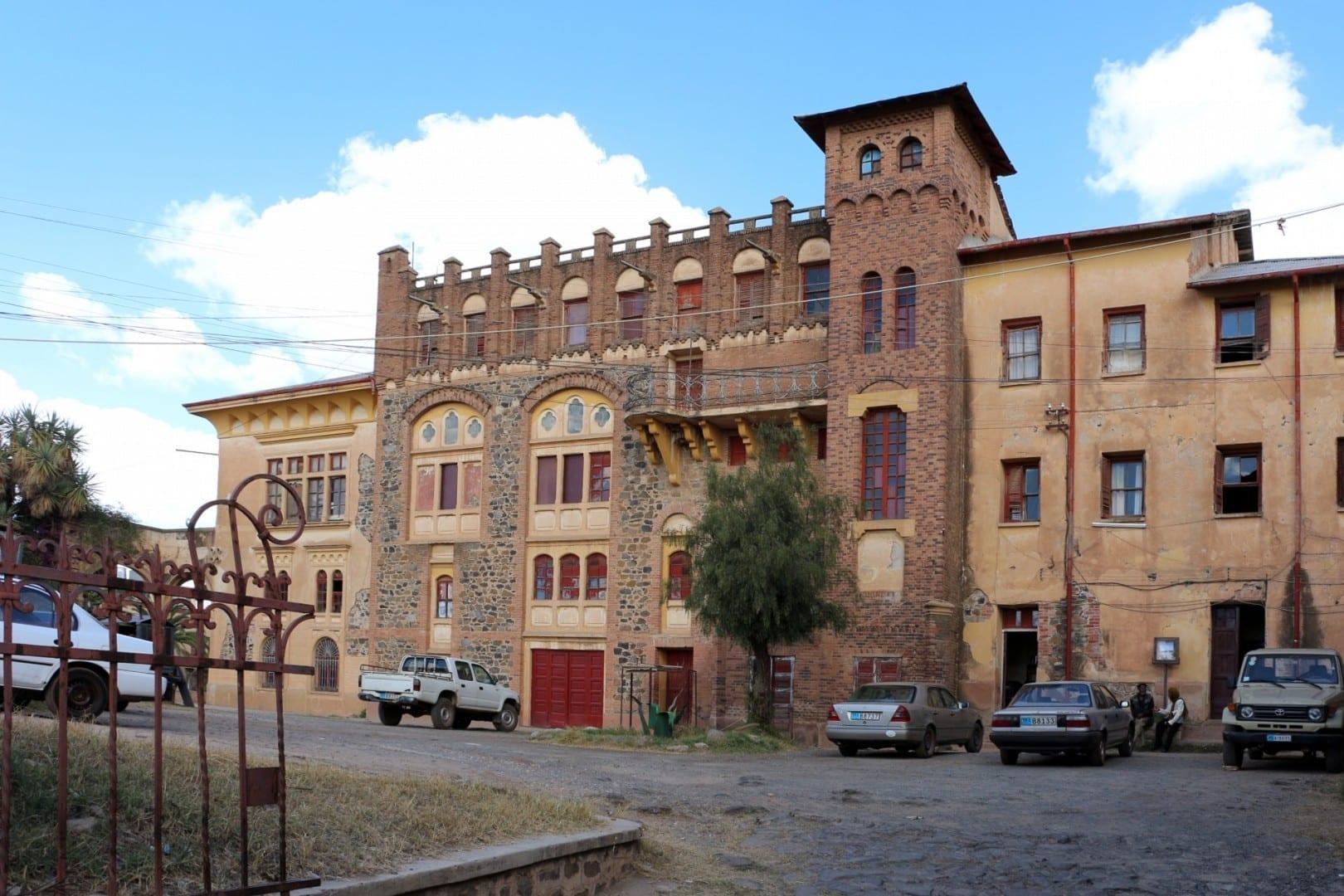 Teatro de la Ópera Asmara Eritrea