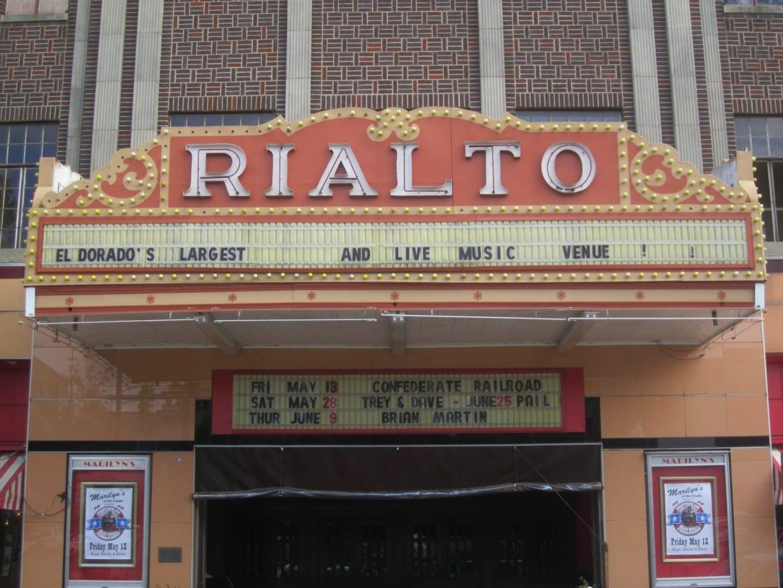 Teatro Rialto, El Dorado El Dorado AR Estados Unidos