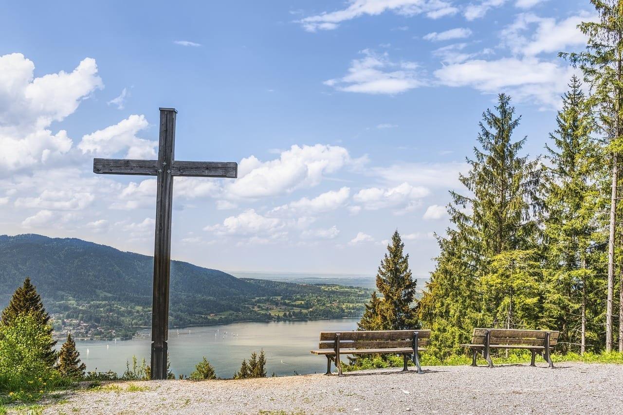 Tegernsee Cruz El Cristianismo Alemania