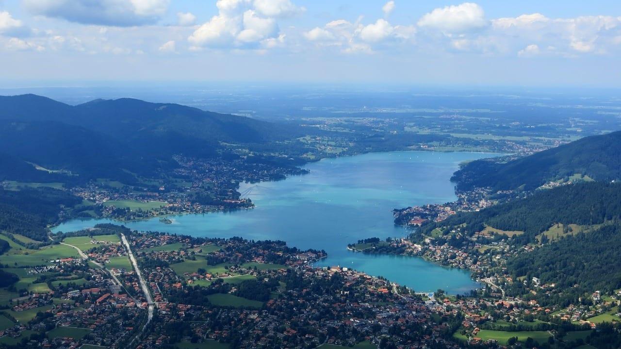 Tegernsee La Visión Paisaje Alemania