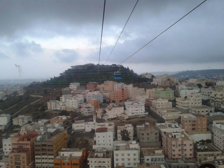 Teleférico Abha Arabia Saudí