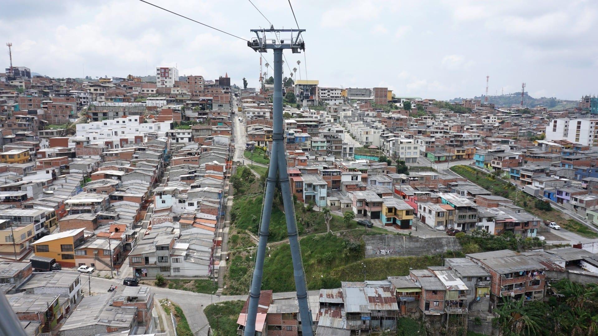 Teleférico de Manizales zu Villamaria Manizales Colombia