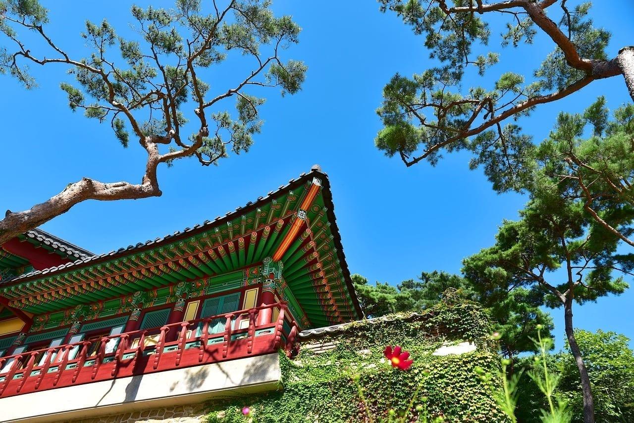 Templo Corea Incheon Corea del Sur