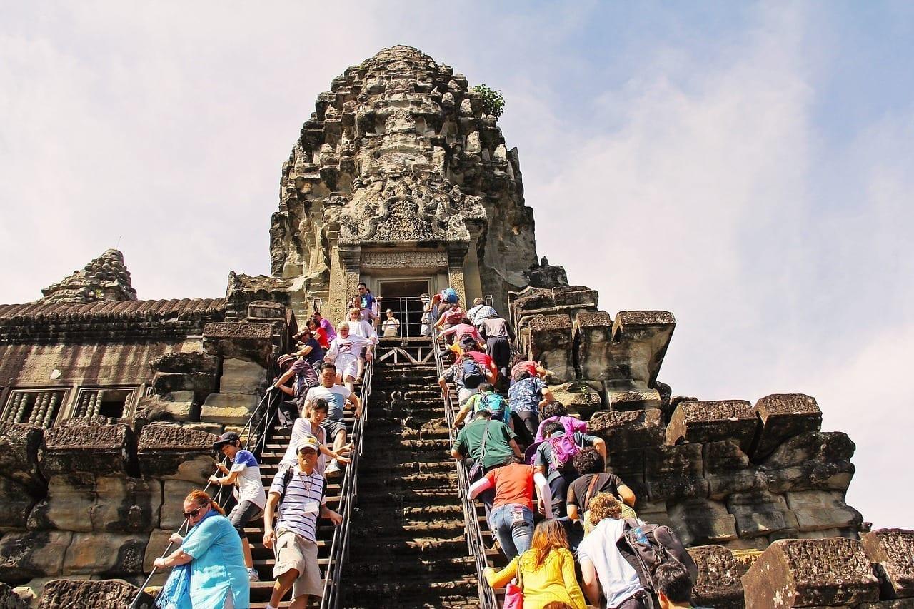 Templo De Angkor Wat Amazing Siete Maravillas Camboya