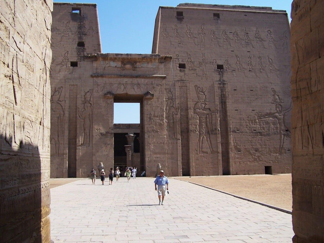 Templo de Edfú Edfu Egipto