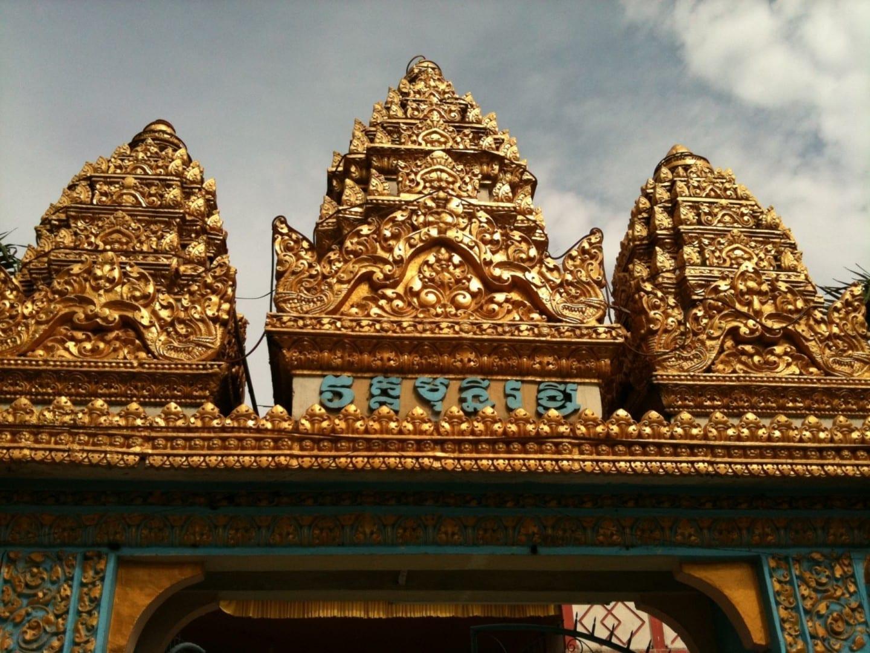 Templo de Munirensay Can Tho Vietnam