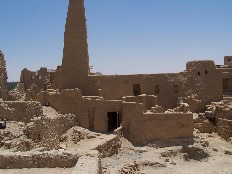 Templo del Oráculo cerca del Oasis de Siwa Siwa Oasis Egipto