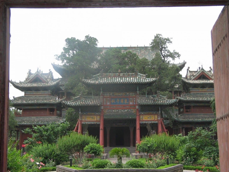 Templo Guan Di. Yuncheng China