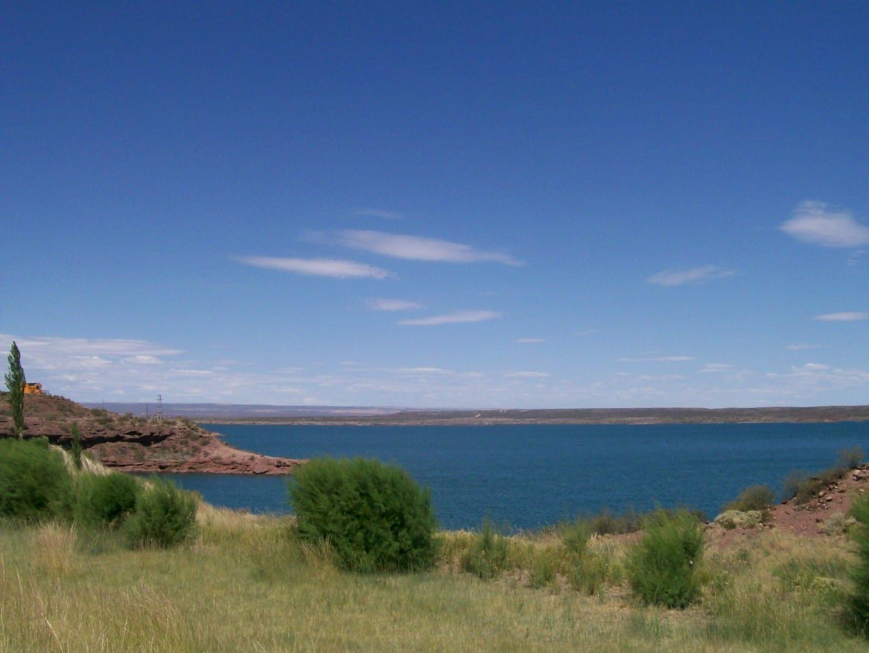 The El Chocón lake Neuquen Argentina