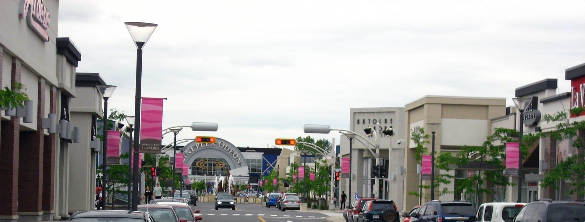 Tiendas en Quartier Dix30 Brossard Canadá