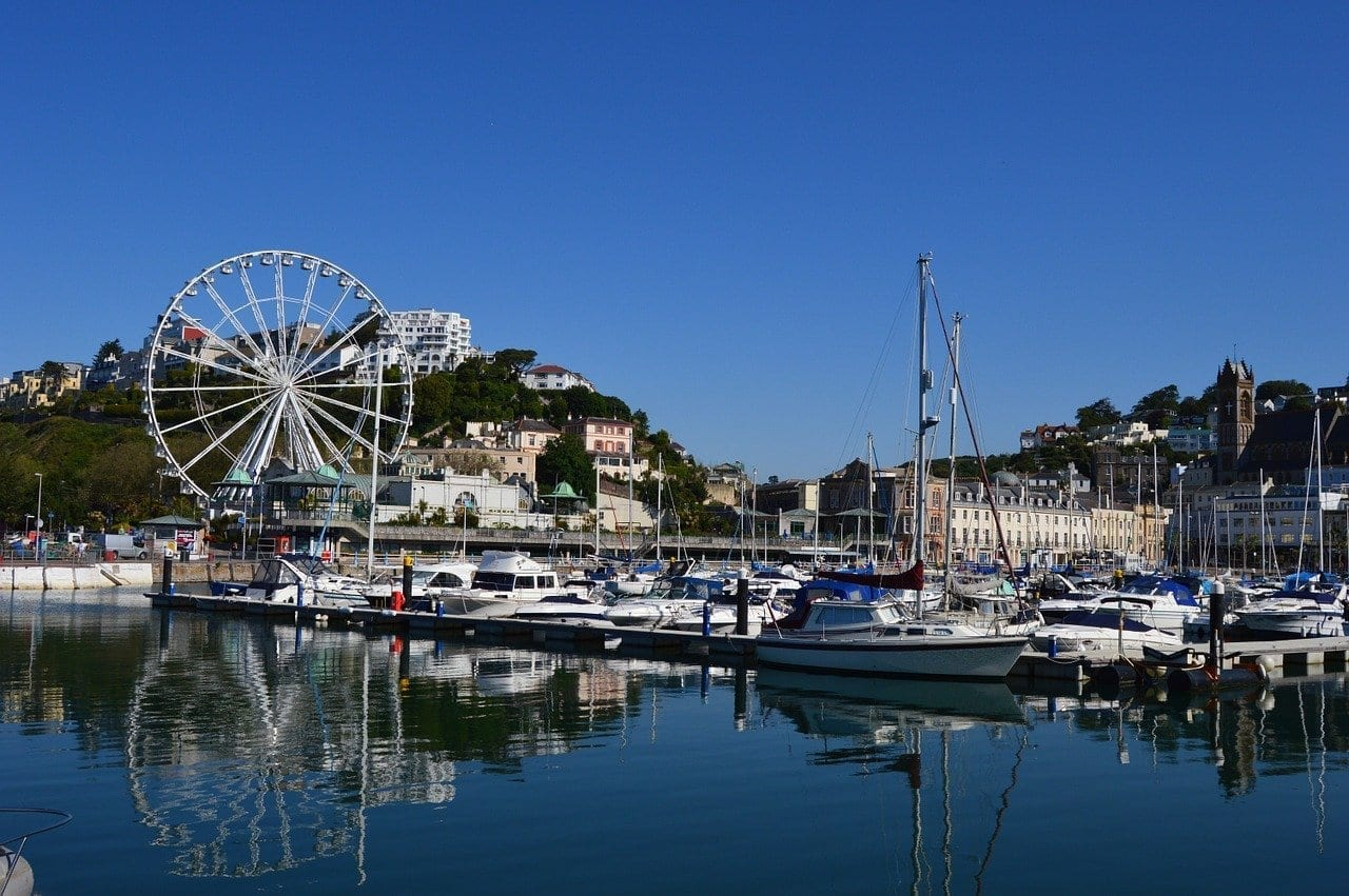 Torquay Puerto Devon Reino Unido