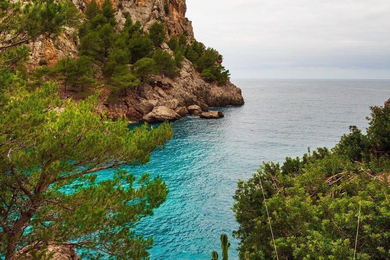 Torrente De Pareis Mallorca Costa España