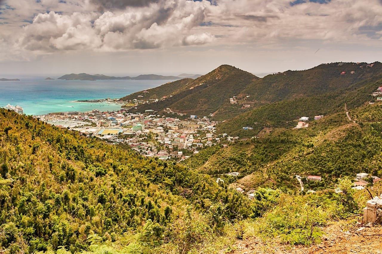 Tortola Vírgenes Británicas Islas Británico Islas Vírgenes del Reino Unido