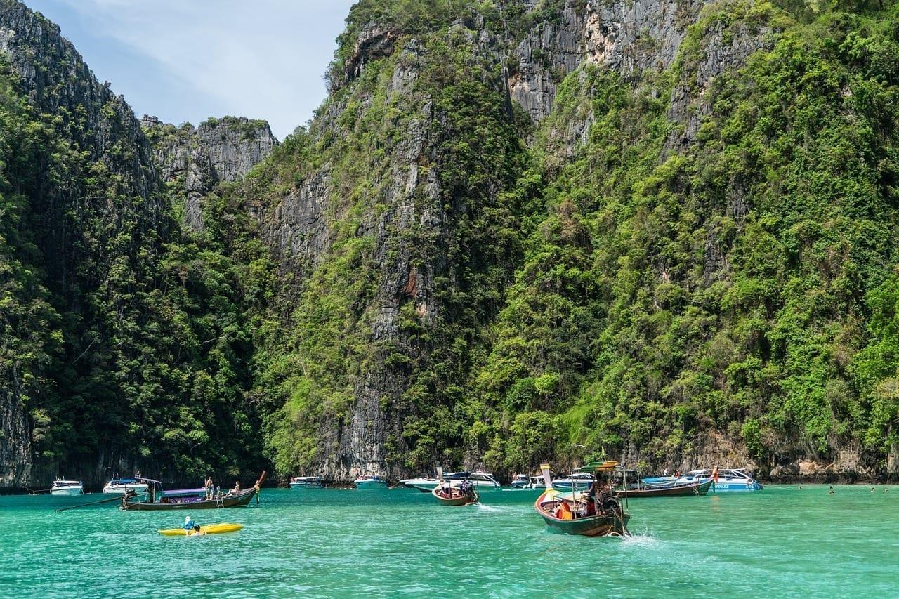 Tour De La Isla De Phi Phi Phuket Tailandia Tailandia