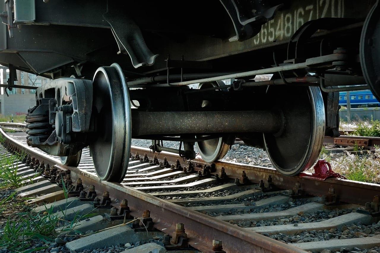 Train Rusty Wheel Alemania