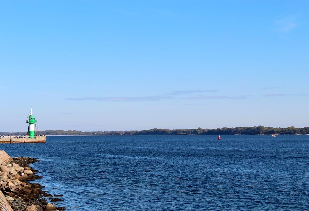 Travemünde Faro Mar Báltico Alemania