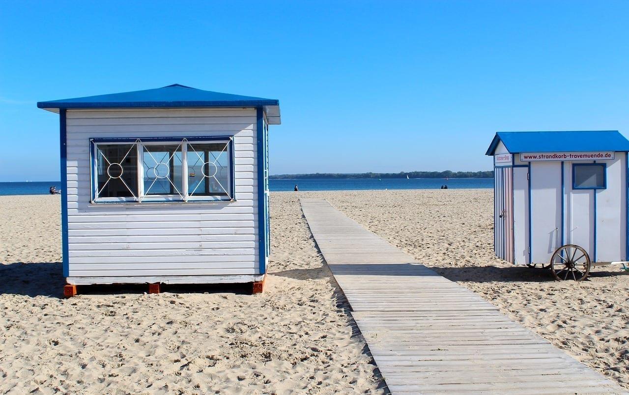 Travemünde Playa Casa De Playa Alemania