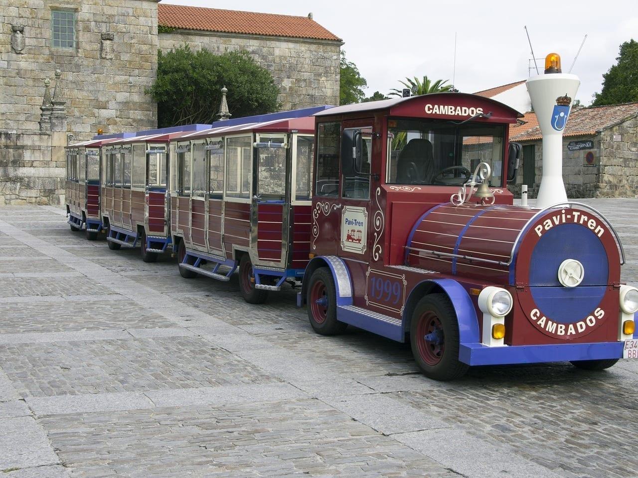 Tren Turístico Paseo Cambados España