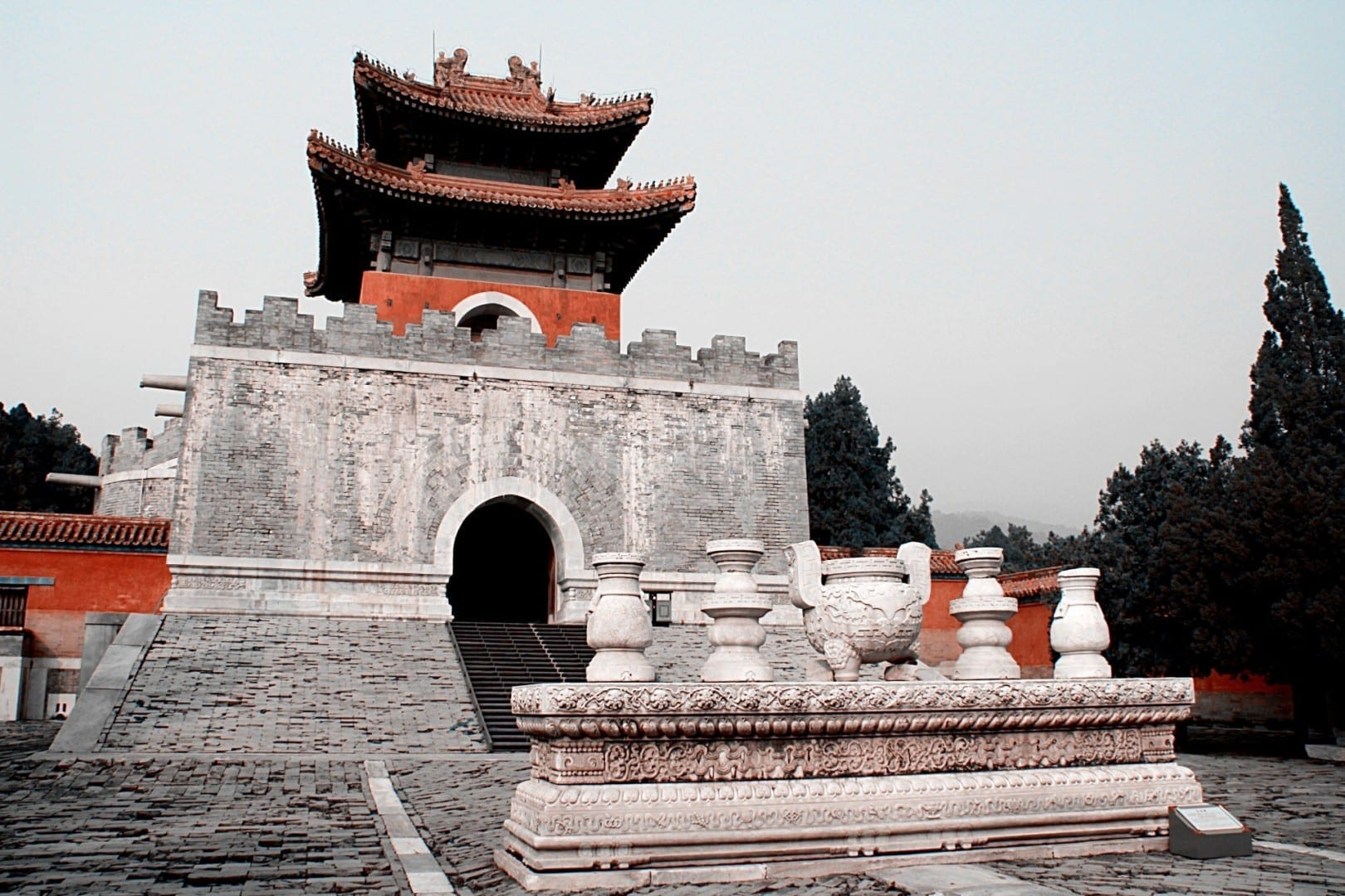 Tumbas imperiales Tangshan China