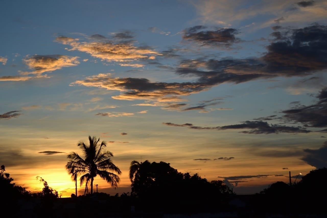 Uberlândia Crepúsculo Por La Tarde Eventide Brasil