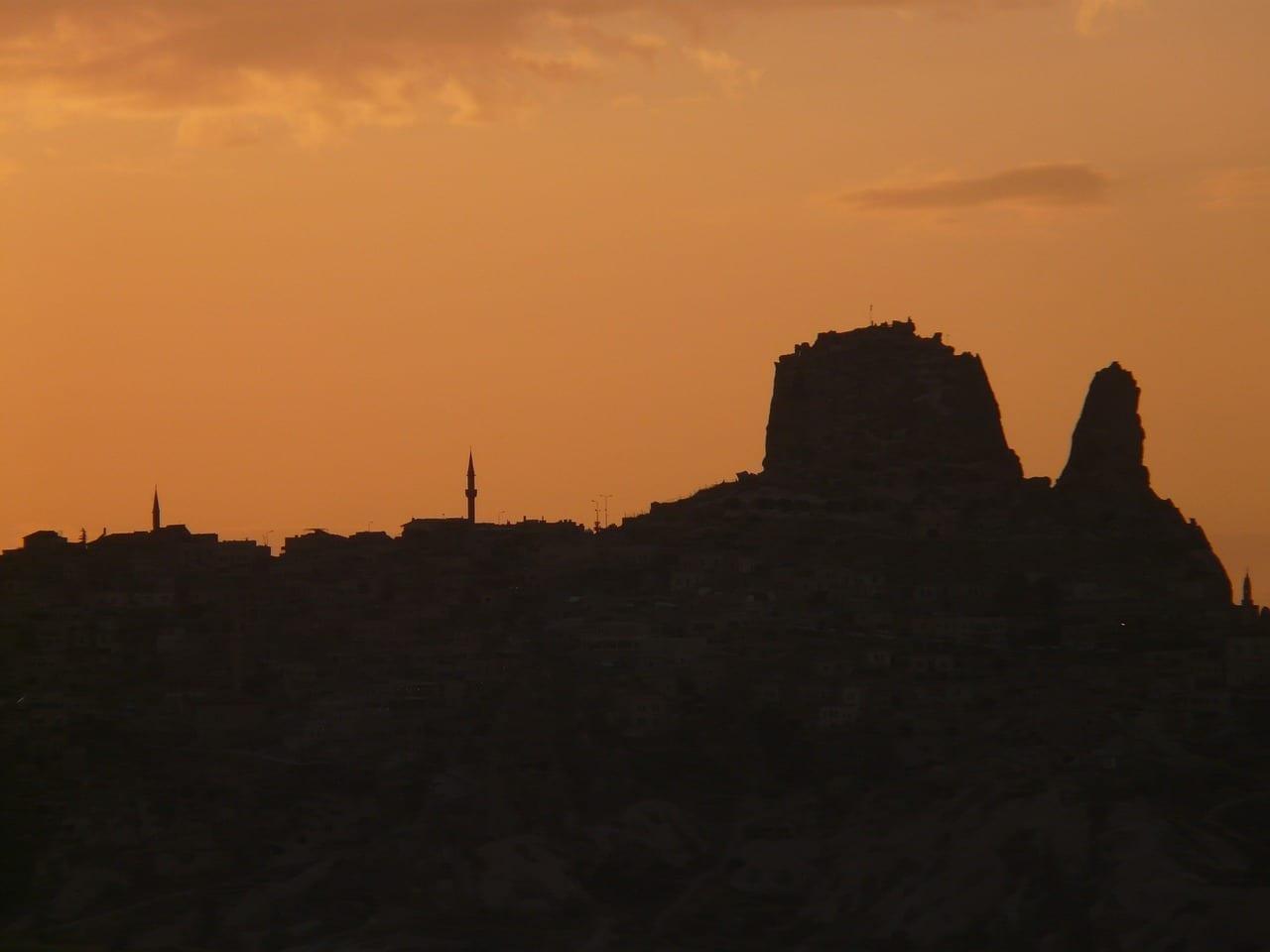 Uchisar Capadocia Nevşehir Turquía