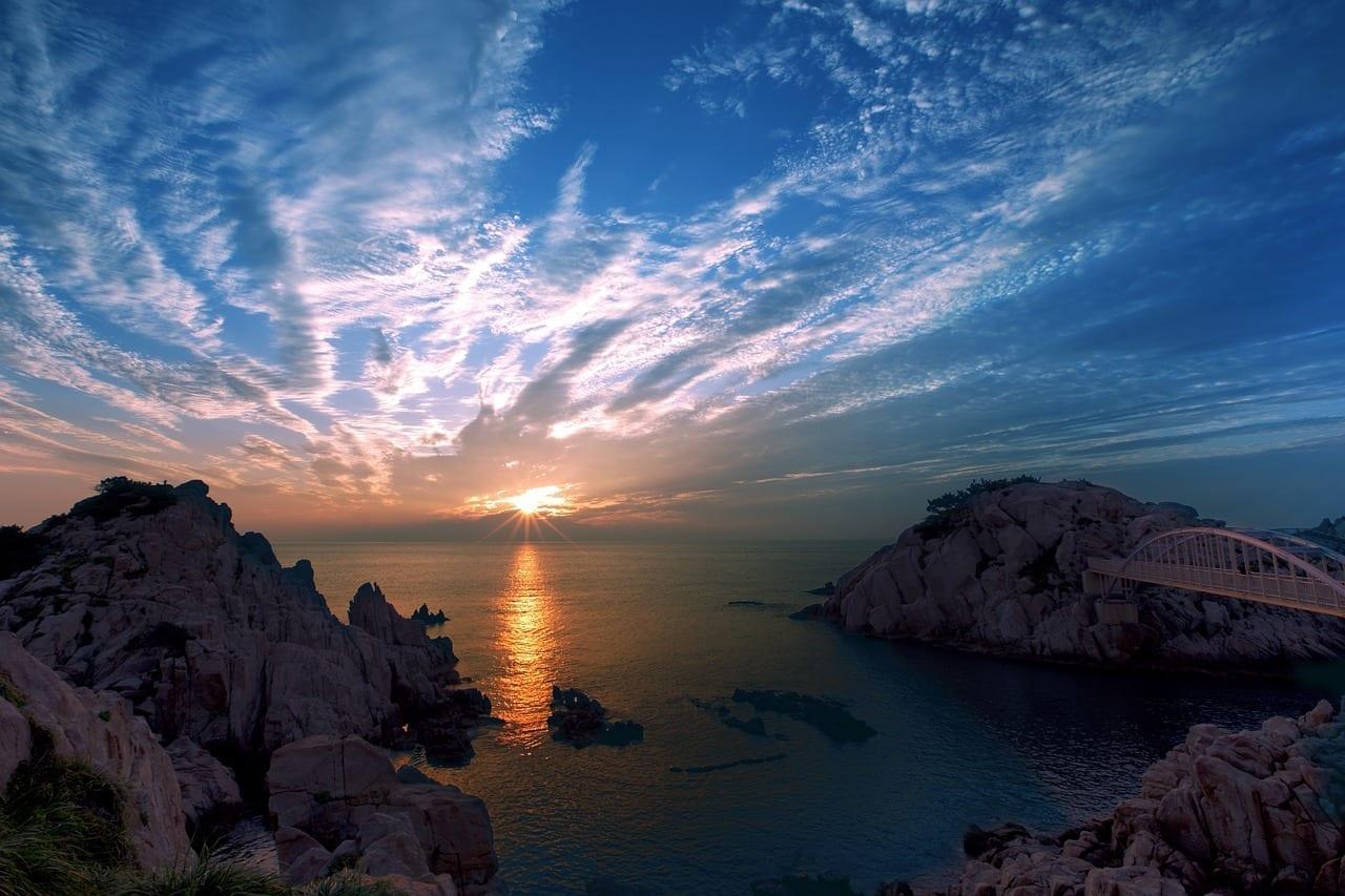 Ulsan Sunrise Costa Corea del Sur