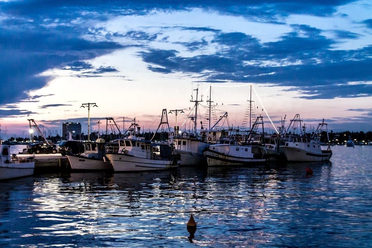 Umag Puerto Los Buques Croacia