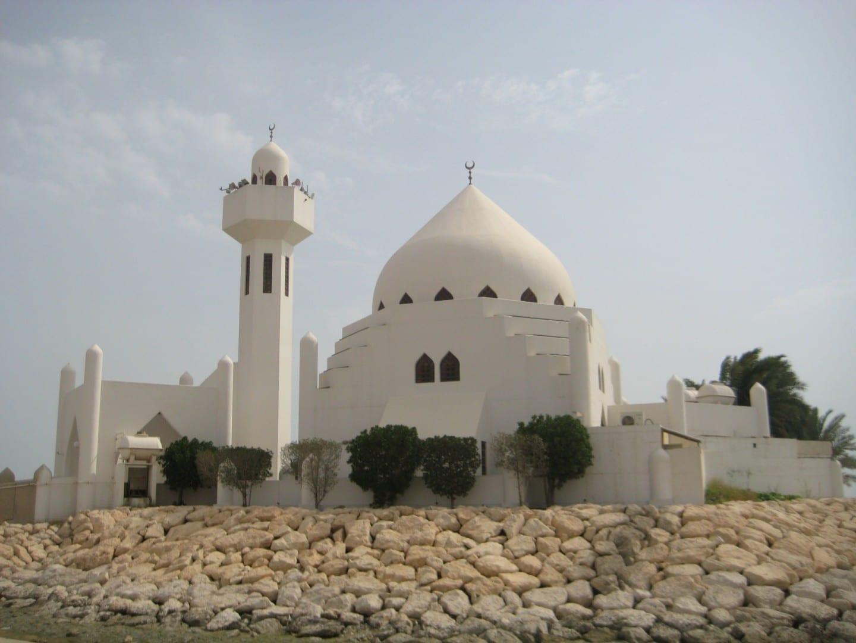Una llamativa mezquita en la Corniche Al Khobar Arabia Saudí