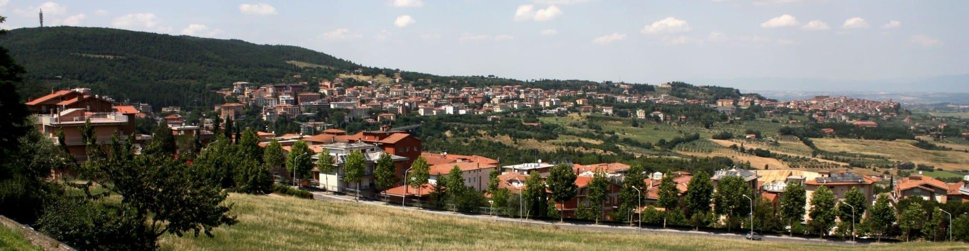 Una vista de Chianciano Chianciano Italia