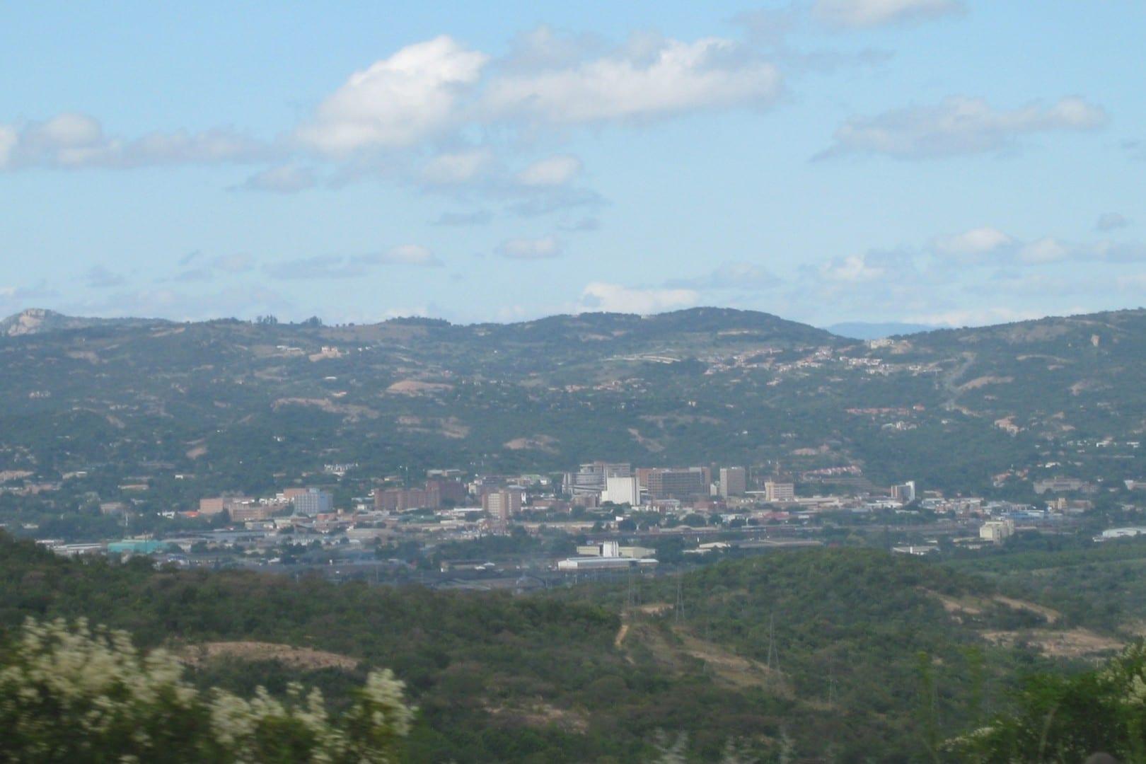 Una vista de Mbombela Mbombela República de Sudáfrica