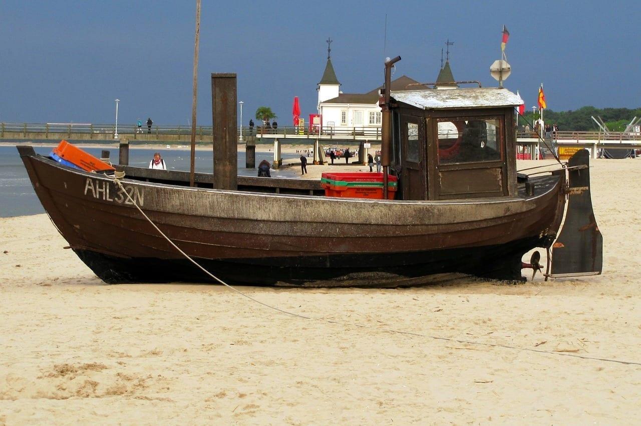 Usedom Balneario Del Mar Báltico De Ahlbeck Playa Alemania