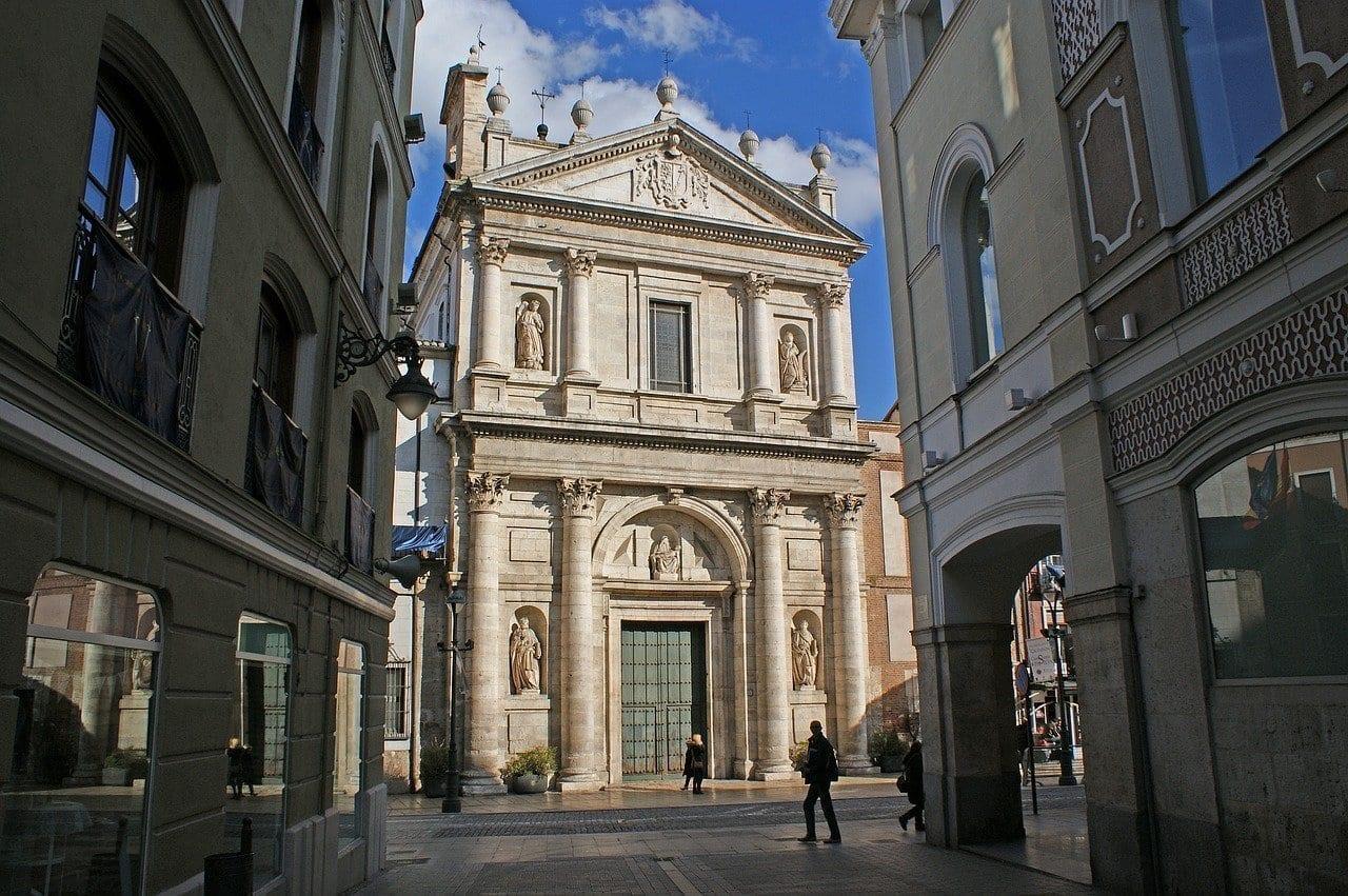 Valladolid Arquitectura Iglesia De Las Angustias México