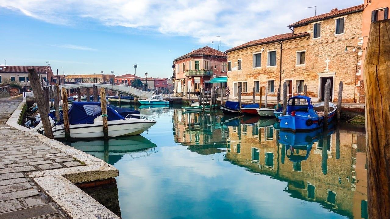 Venecia Murano Colorido Italia