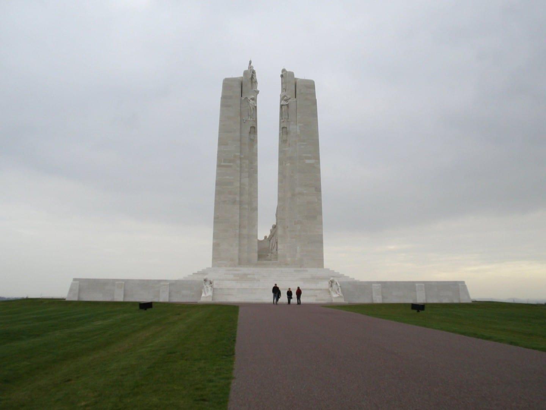 Vimy Ridge Canadian Memorial Lens Francia