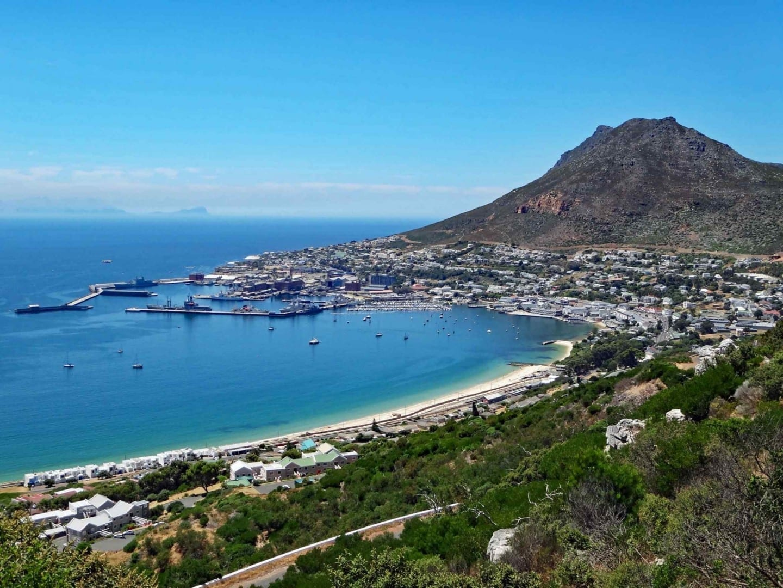 Vista de la ciudad de Simon Simons Town República de Sudáfrica