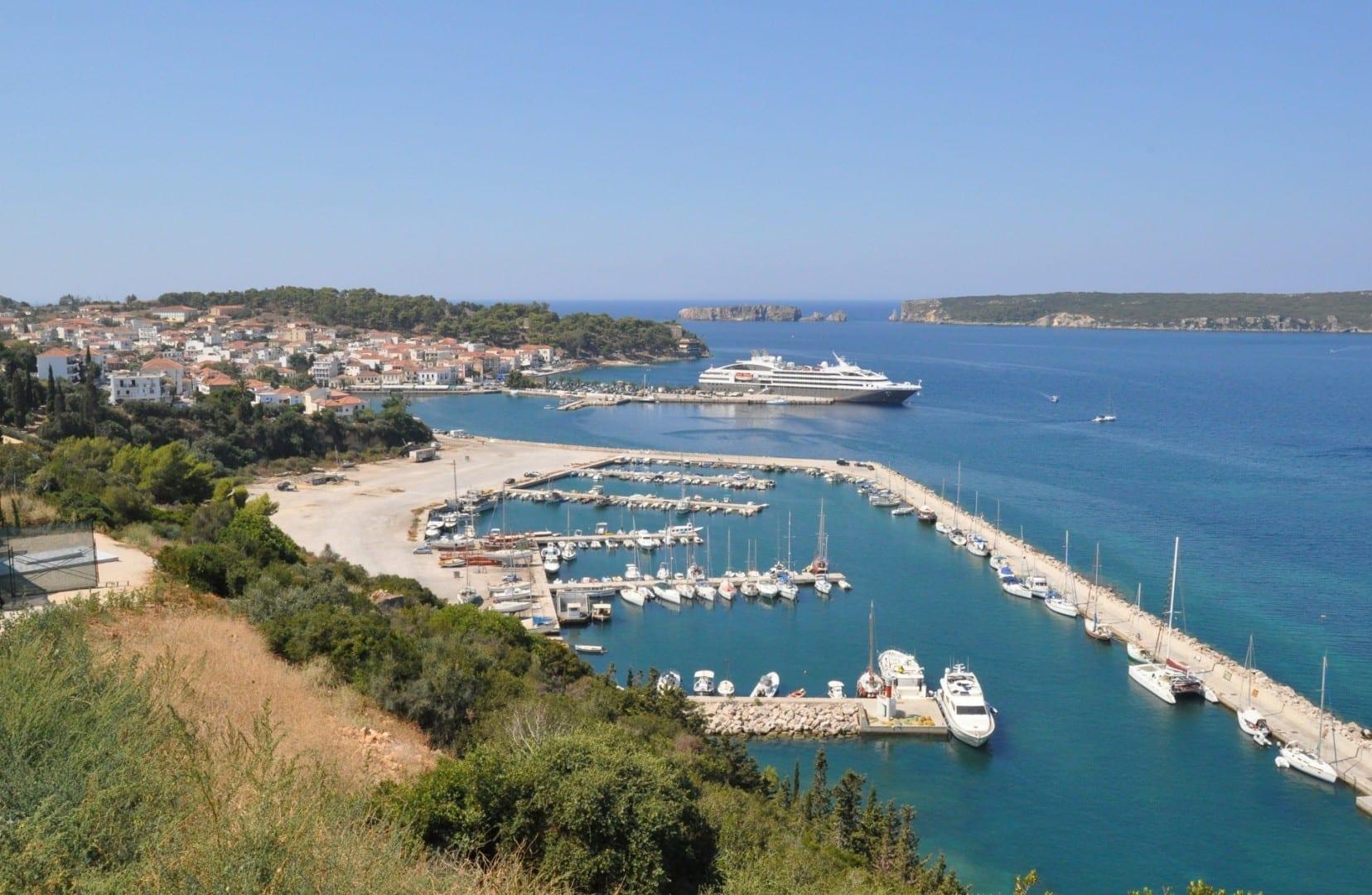 Vista de Pylos Pilos Grecia