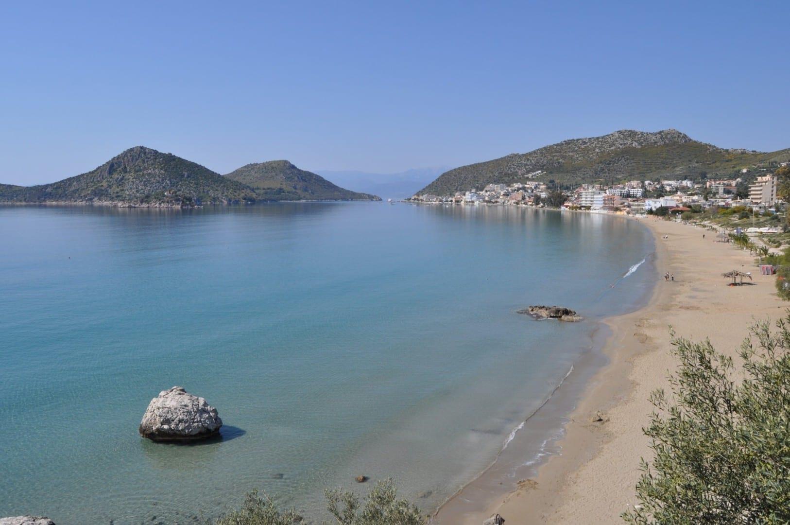Vista de Tolón Tolo Grecia