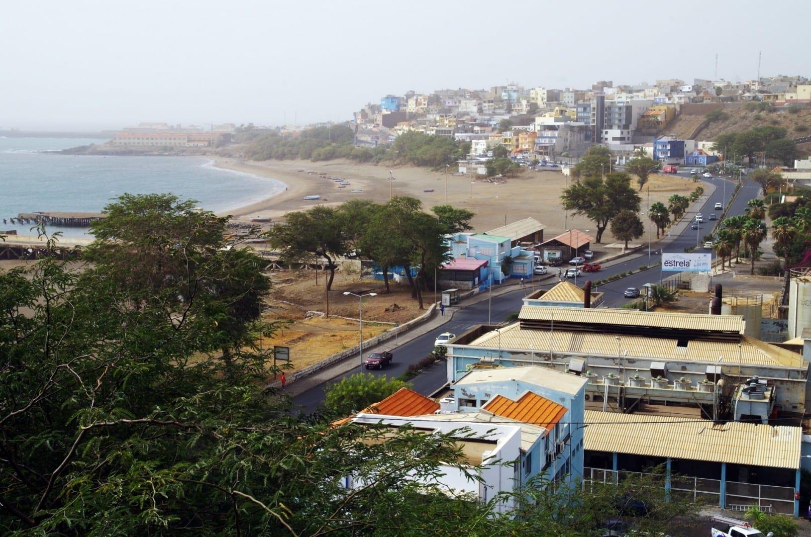 Vista desde el monumento a Diogo Gómez Praia (Isla de Santiago) Cabo Verde