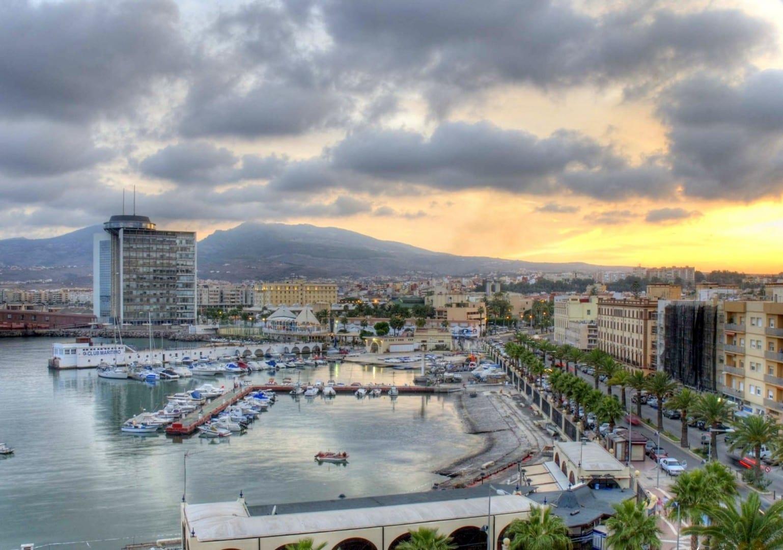 Vista desde el Viejo Melilla Melilla España