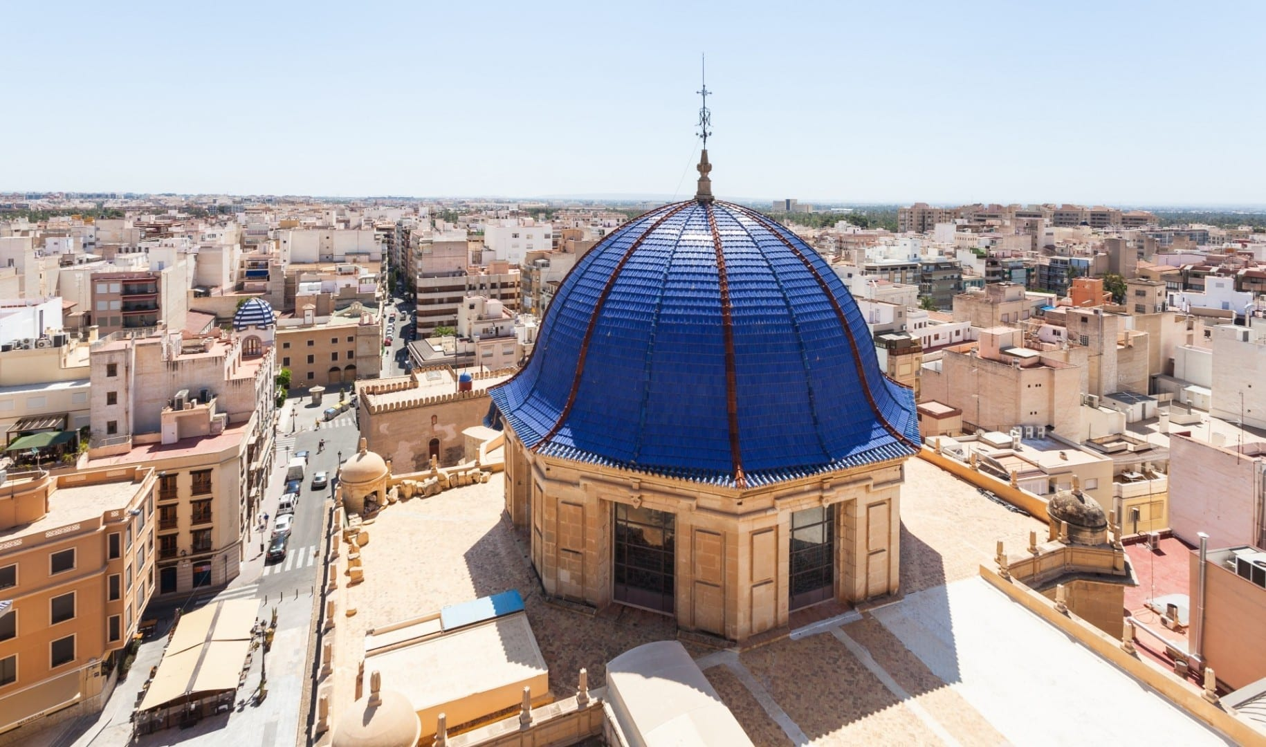 Vista desde la Basílica de Santa María Elche España