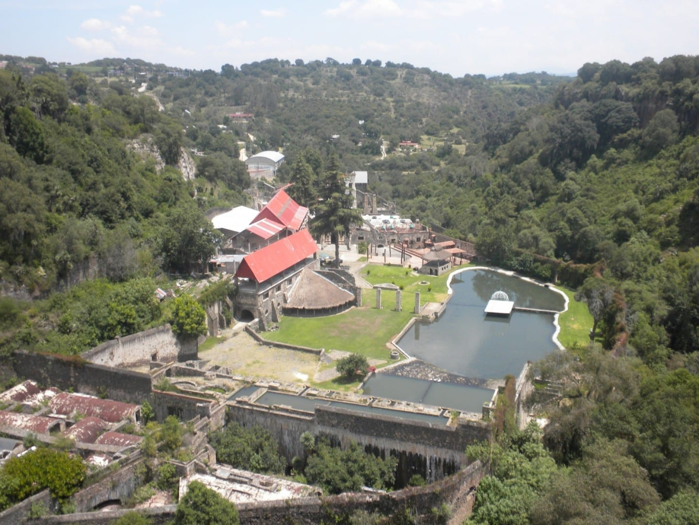 Vista general de la Hacienda de Santa María Regla Huasca de Ocampo México