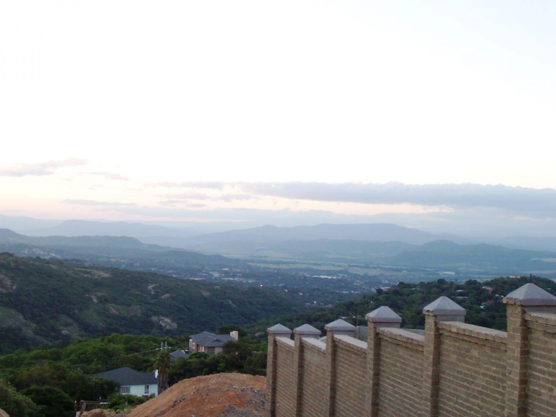 Vista panorámica desde la cima de una colina de Mbombela Mbombela República de Sudáfrica