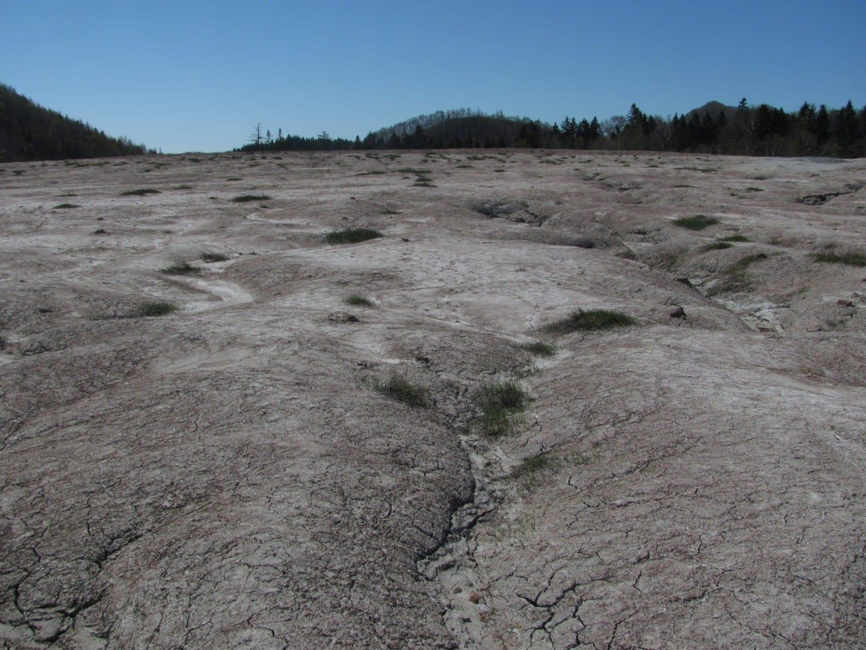 volcán de lodo Yuzhno-Sajalinsk Rusia