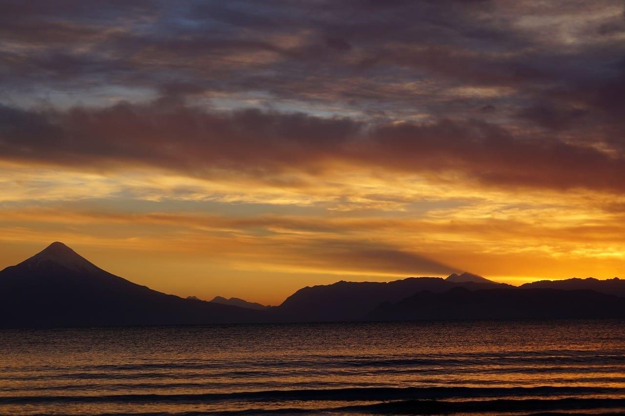 Volcán Osorno Amanecer Llanquihue Chile