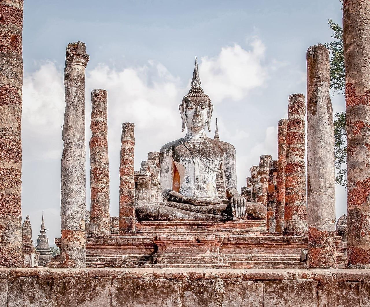 Wat Mahathat Sukhothai Sukhothai Tailandia Tailandia