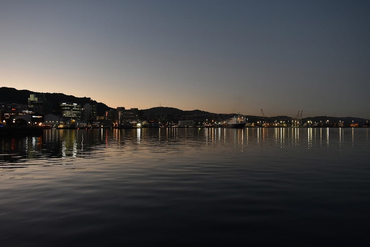 Wellington Nueva Zelanda Ciudad República de Sudáfrica