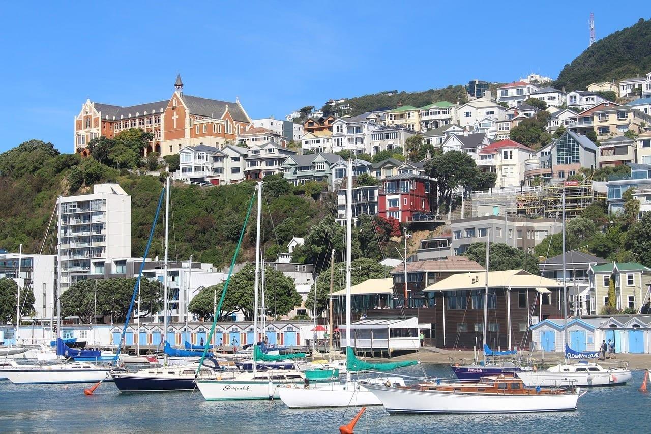 Wellington Nueva Zelanda De La Ciudad República de Sudáfrica