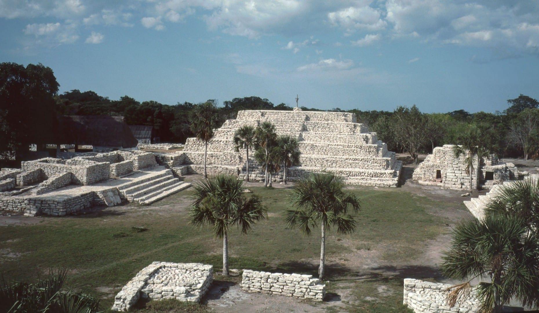 Xcambó Archaeological Site Puerto Progreso México